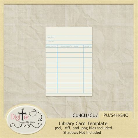 library card design template 258 best 1project digi images on