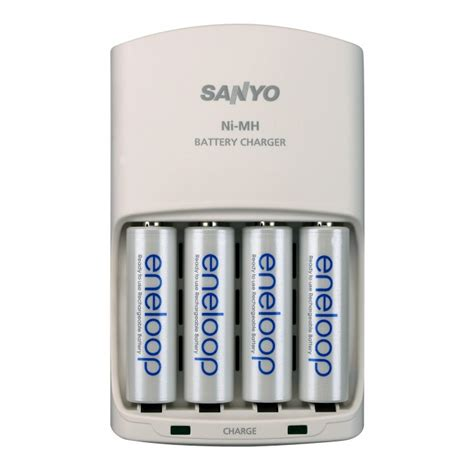 Baterai Batere Sanyo Enelop Aa Rechargeable Bisa Di Cas Ulang 1 sanyo eneloop rechargeable ni mh battery kit family pack electronics