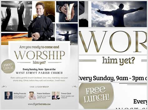 free christian flyer templates worship church christian flyer template flyerheroes