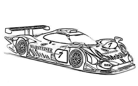 race car coloring pages 5 coloringpagehub