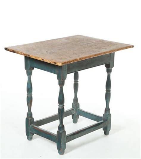 tavern table american 18th century pine and