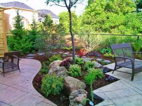 backyard without grass landscape garten - Backyard Landscaping