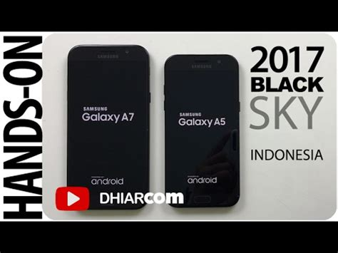 Harga Samsung A3 Warna unboxing samsung a3 a5 a7 2017 indonesia warna black