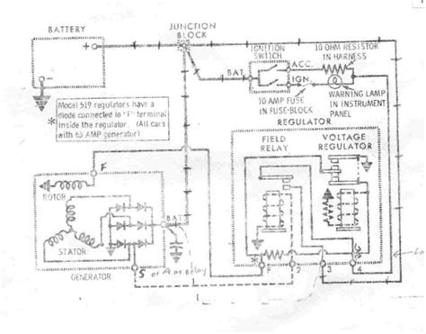 converting generator to alternator wiring diagram 49