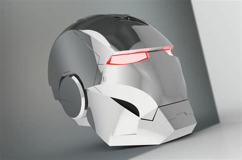 helmet design solidworks iron man helmet step iges solidworks 3d cad model