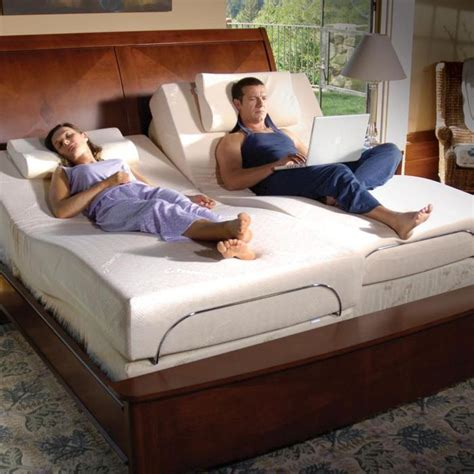 tempurpedic adjustable beds at brookstone buy now