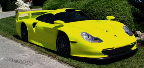 yellow porsche png yellow porsche 911 gt1 straben by naganor35 on deviantart