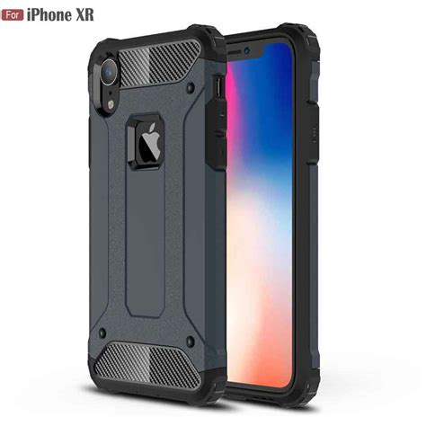 jfvnsun for apple iphone xr 6 1 quot fashioh mixed color pc tpu shockproof armor protective