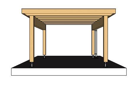 carport bauplan in 6 schritte ein carport selber bauen 183 baubeaver