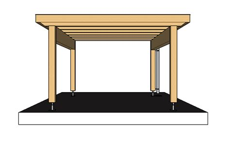 fertig carport in 6 schritte ein carport selber bauen 183 baubeaver