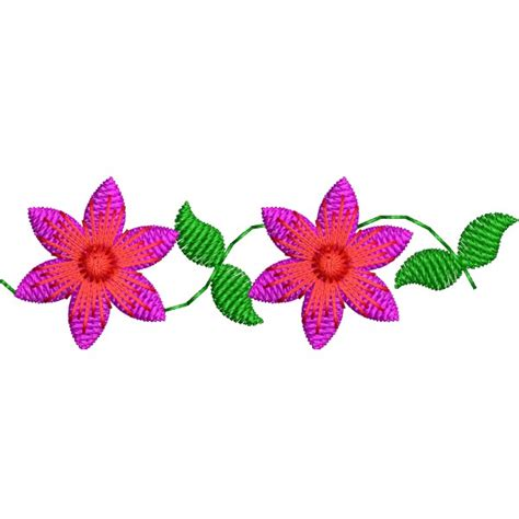 small designs small decor border flower designs embroideryshristi