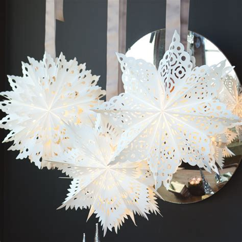artisan paper snowflakes  gifts olive cocoa
