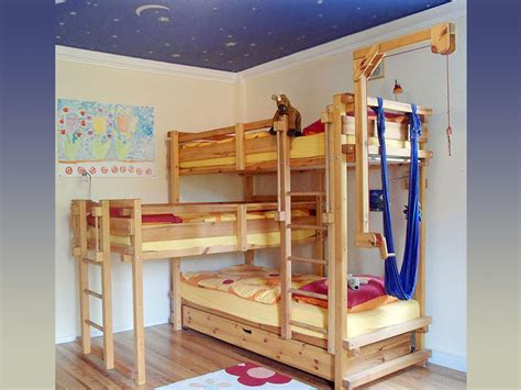 Bunk Beds With Three Beds 5 Out Of The Box Ideas For 3 Bed Bunk Bed Home And Cabinet Reviews