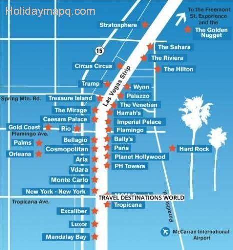 Las Vegas Hotels Map by 2015 Map Of The Strip Related Keywords Amp Suggestions