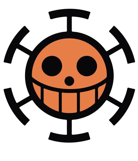 Kaos Luffy One Logo trafalgar clipart clipground