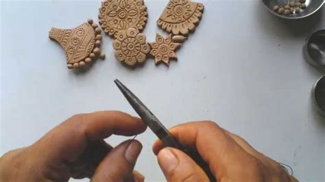 clay to make jewelry terracotta or clay jewellery how to make drops