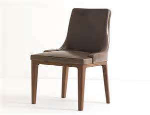 ulivi lola brown leather dining chair nella vetrina