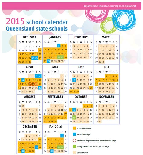 printable queensland calendar 2015 2014 calendar education queensland calendar