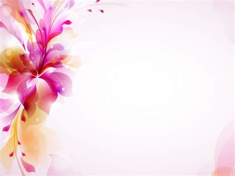 Powerpoint Templates Flowers Parksandrecgifs Com Flower Powerpoint Template