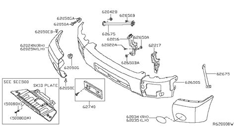 nissan titan parts diagram front bumper for 2013 nissan titan nissan parts deal