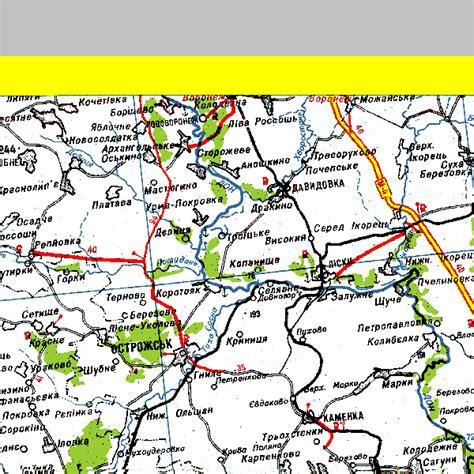 ua map ukrainian road map server coordinate m02