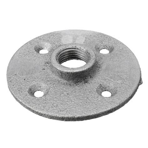 sliver malleable threaded floor flange iron plumbing pipe fitting alexnldcom