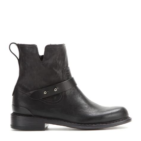 Ap Boots Moto 3 1 rag bone ashford new moto leather ankle boots in black