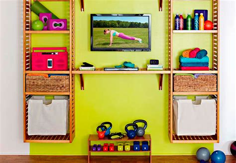 clever ideas to make a home gym attractive miller hobbs home gym makeover