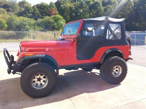 jeep cj5 laredo 1982 jeep cj5 laredo