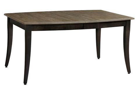 keystone collections manchester solid top dining table from