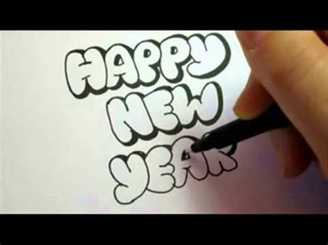 writing about new year how to write happy new year in writing