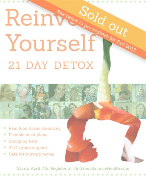 21 Day Junk Food Detox by Reinvent Yourself 21 Day Detox For 13 Find Your