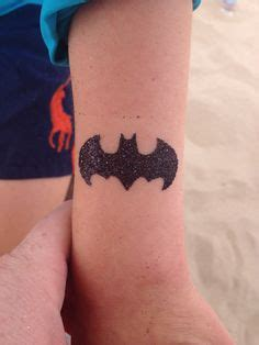 Batman Glitter Tattoo   catwoman women tattoo placement and batman on pinterest