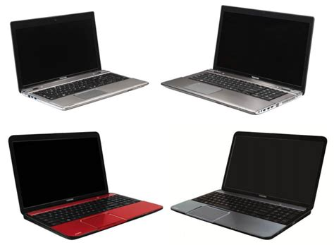 toshiba releases the satellite p series of laptops notebookcheck net news