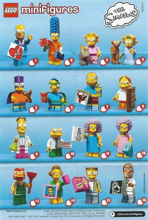 Lego Set Minifiigures Simpsons Series 2 16pcs Character Complete review lego simpsons minifigures series 2