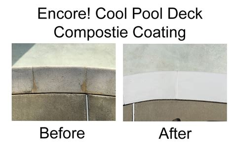hydropool encore cool pool concrete deck composite coating kit item eck 1