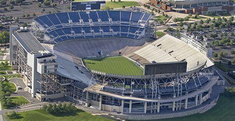 penn state stadium seating blue white weekend 2014
