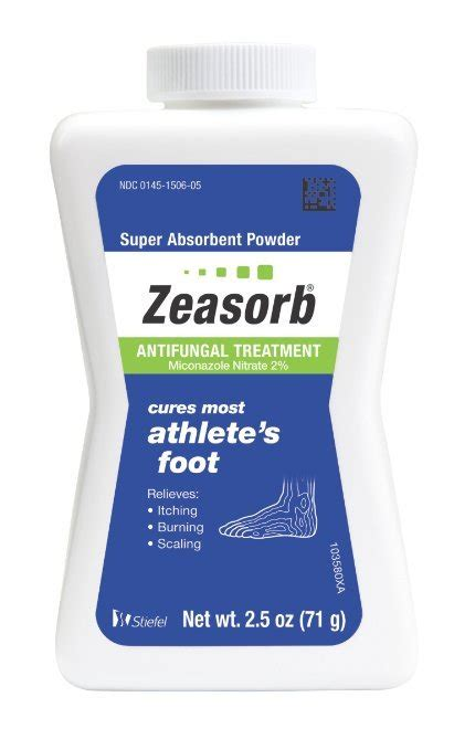 Pdf Zeasorb Af Powder Ingredients by Bath Products Zeasorb Zeasorb Anti Fungal Treatment
