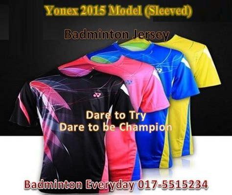 Baju Jersey Badminton Yn 2015 Model Badminton Shirt Baju Je End 8 5 2019 3 15 Pm