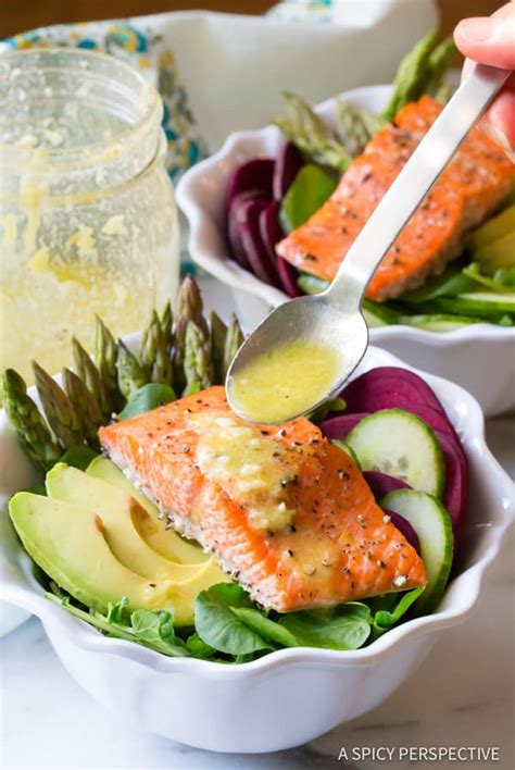 Sugar Detox Salad Dressings by Roasted Salmon Detox Salad A Spicy Perspective