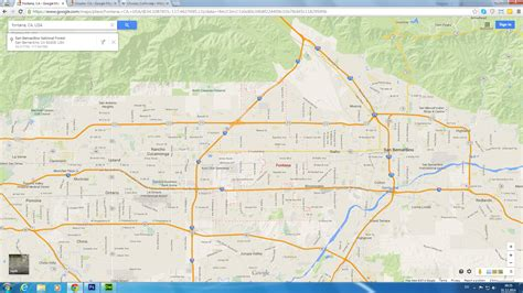map of fontana ca fontana ca related keywords suggestions fontana ca