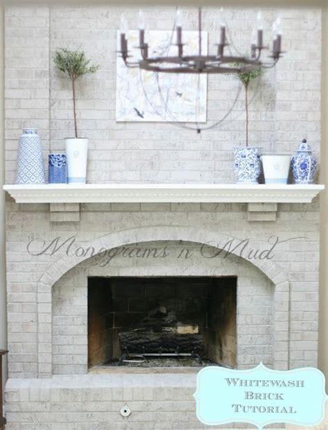 whitewashed brick fireplace 17 best ideas about whitewash brick fireplaces on