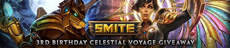 Smite Giveaway 2017 - smite celestial voyage giveaway event free online mmorpg and mmo games list onrpg