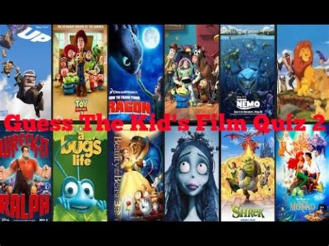 film quiz for students guess the kid s film quiz 2 youtube
