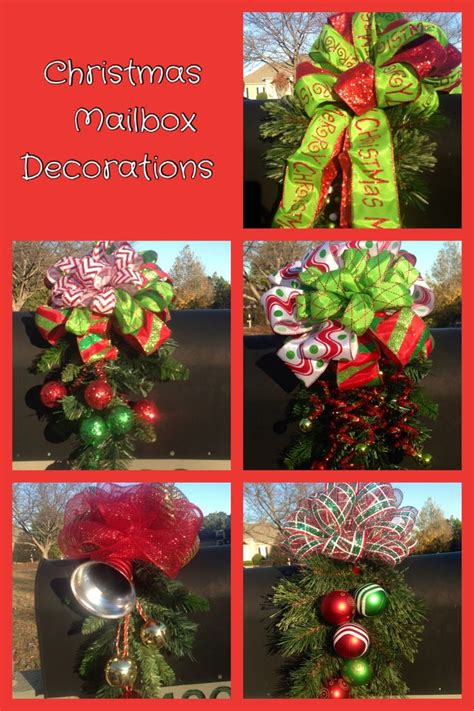 1000 images about mail box xmas decor on pinterest deco
