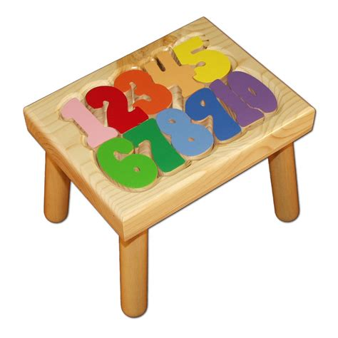 Puzzle Stools by Number Puzzle Stool Damhorst Toys Puzzles Inc Store