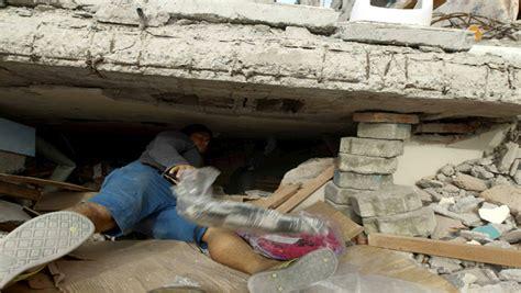 pedernales en ecuador pedernales es la regi 243 n m 225 s afectada por el terremoto en