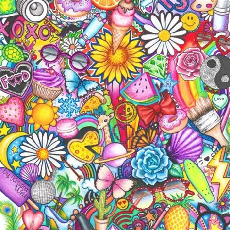 Colorful Sharpie Drawings