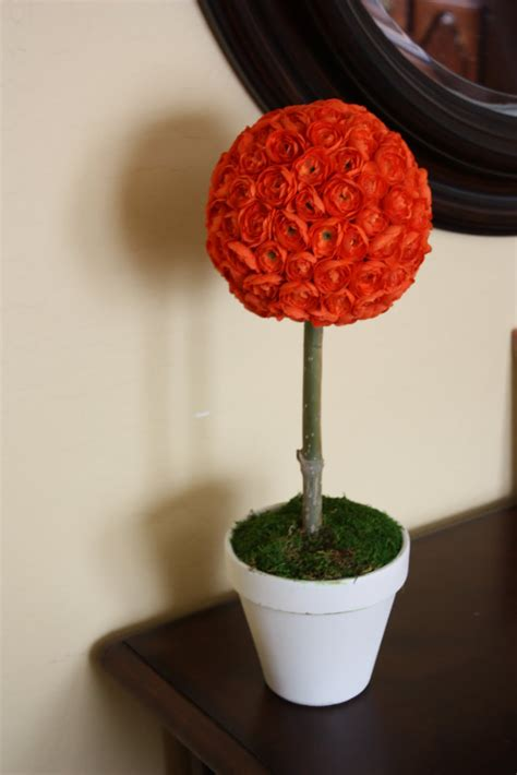 Topiary Flower 2 the pretty poppy tutorial a cheerful flower topiary