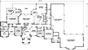 2 Story House Plans With Master On Main Floor by Traditional Style House Plans 11825 Square Foot Home 2